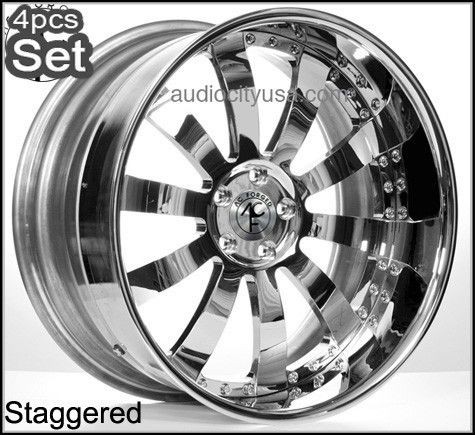 24 AC Forged for Land Range Rover Wheels Rims 3Pc Forged