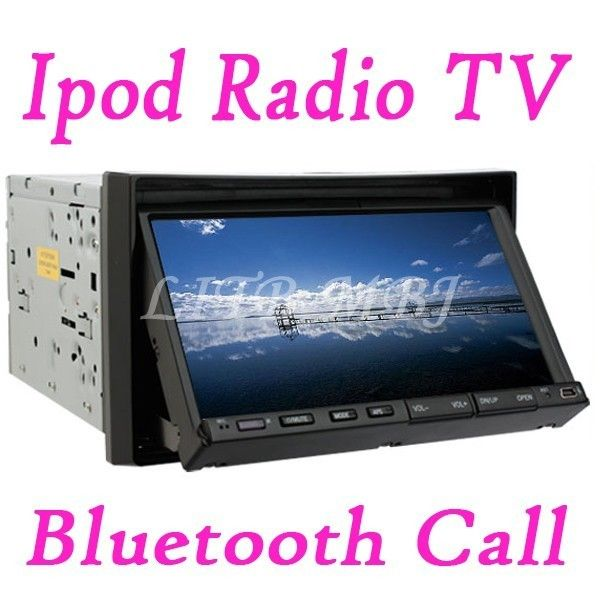 HD 7Car DVD Player Touch Screen Double DIN Bluetooth