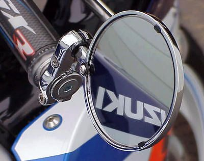 suzuki gsxr 600 750 1000 1100 chrome bar end mirrors