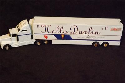 Semi Truck Trailer Hello Darlin  Conway Twitty Limited Edition 1 of