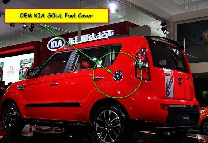 Fuel Gas Tank Tap Cover Cap for Kia Soul Plus Base Burner Denim 2008