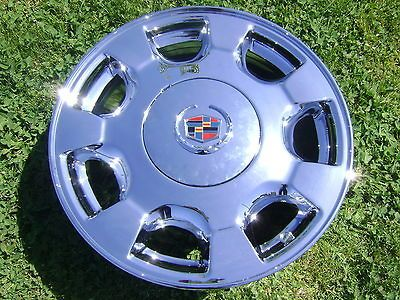 listed 4 16 FACTORY CADILLAC DEVILLE CHROME WHEELS/RIMS EX CHANGE