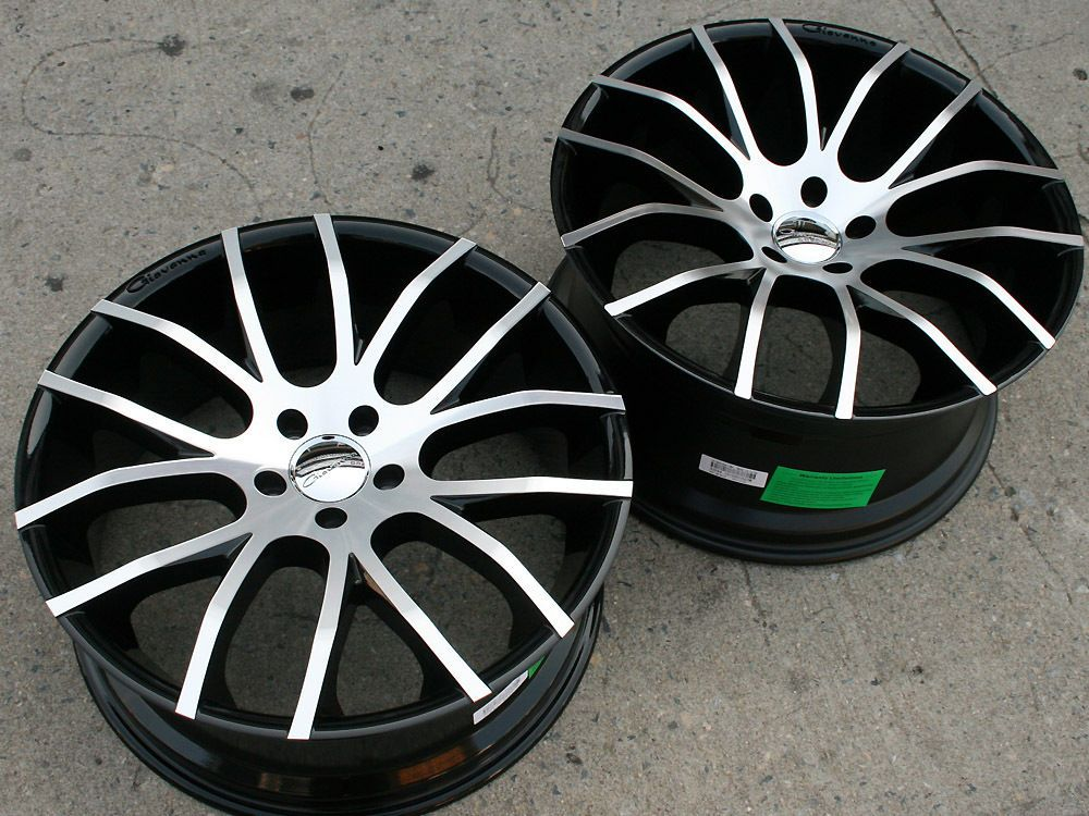 GIOVANNA KILIS 20 BLACK RIMS WHEELS BMW 335 STAGGERED E92 / 20 X 8.5