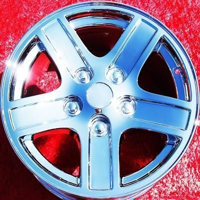OF 4 NEW 17 DODGE DURANGO RAM 1500 FACTORY OEM CHROME WHEELS RIMS 2212