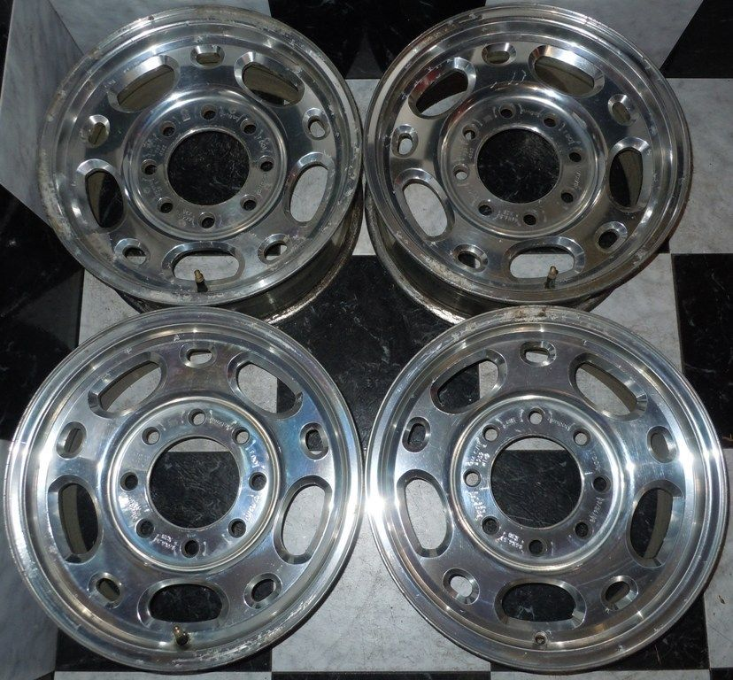 2500HD 2500 HD 16 Factory OEM WHEELS 1988 2010 8 lug 3 4 ton Sierra K