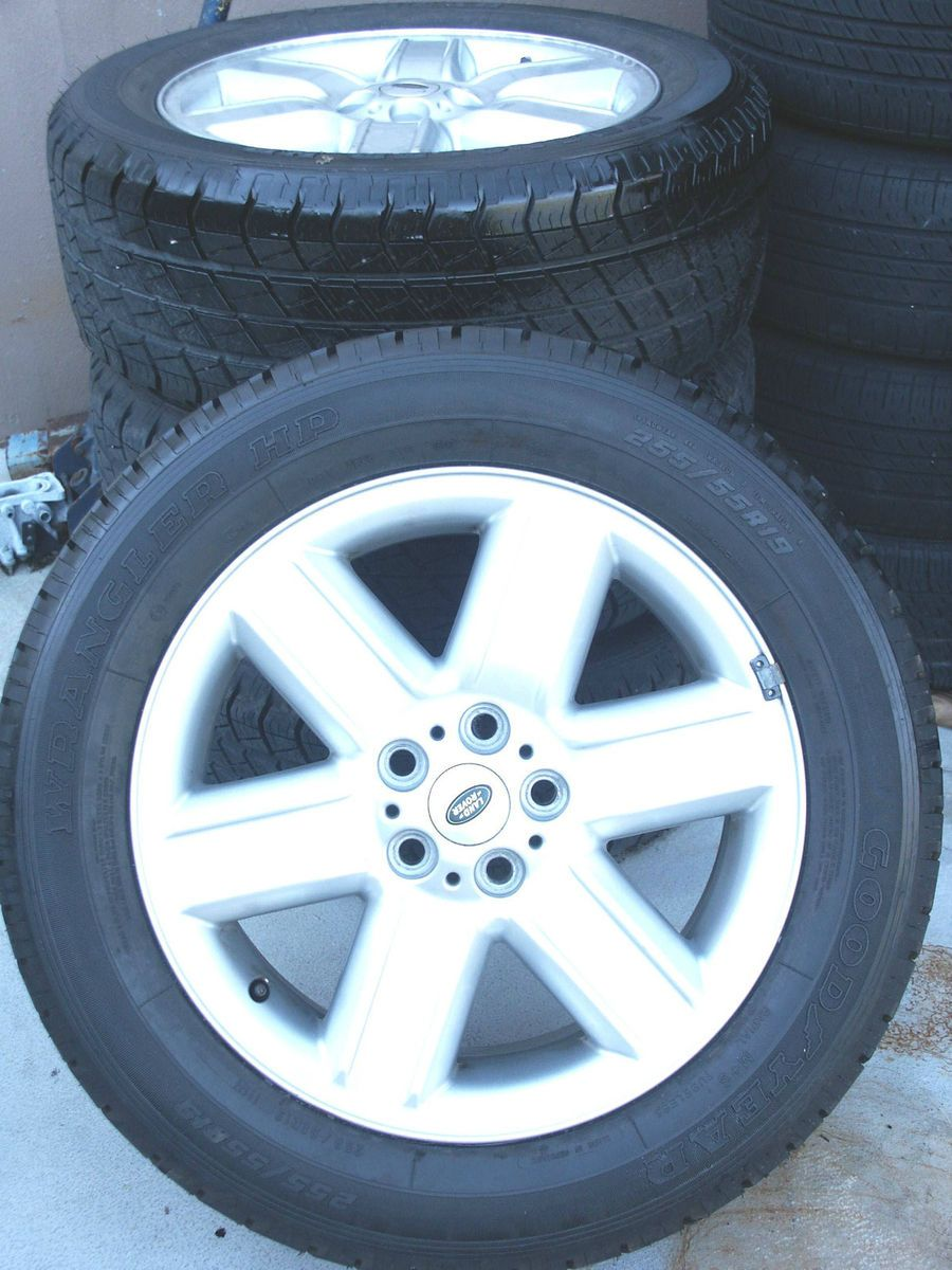 19 Range Rover Land Wheels Rims Tires HSE 255 55 19 EAJX19EH2 S57
